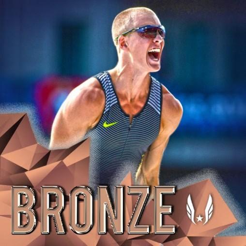 Sam Kendricks wins bronze